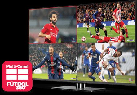 Multi Channel - Fútbol 360 - kernersville, nc - International Satellite TV - Distribuidor autorizado de DISH