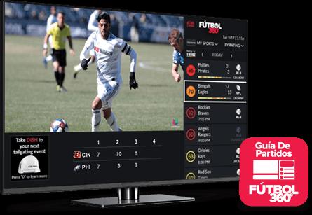 Guía de partidos - Fútbol 360 - kernersville, nc - International Satellite TV - Distribuidor autorizado de DISH